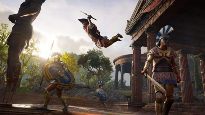 Assassin's Creed Odyssey est gold.