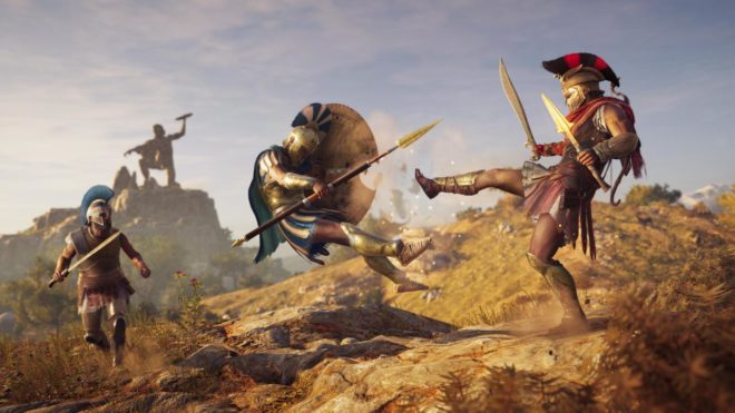 Ubisoft dévoile le trailer de lancement d'Assassin's Creed Odyssey.