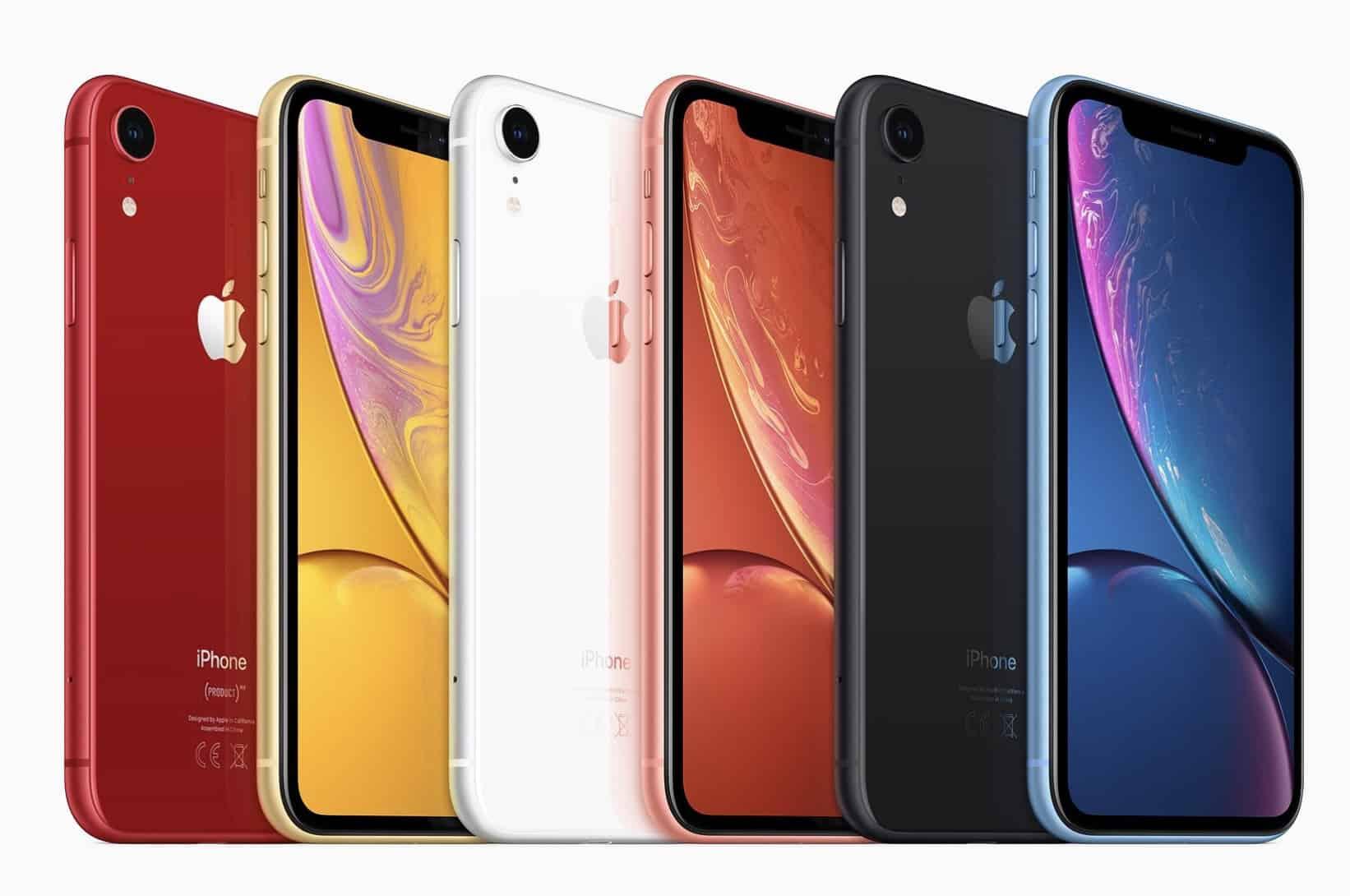 L'iPhone XR 2 pourrait être proposé en deux nouveaux coloris