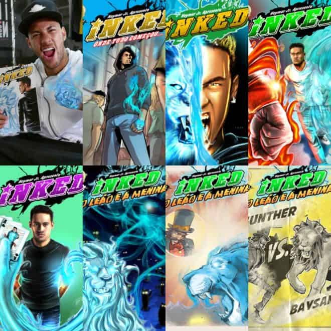 Fan the Flame Concepts annonce l'arrivée de la collection Neymar Jr. Comics.