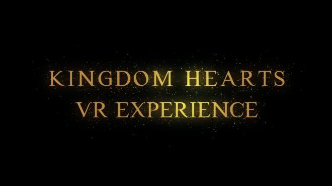 De la VR pour Kingdom Hearts.