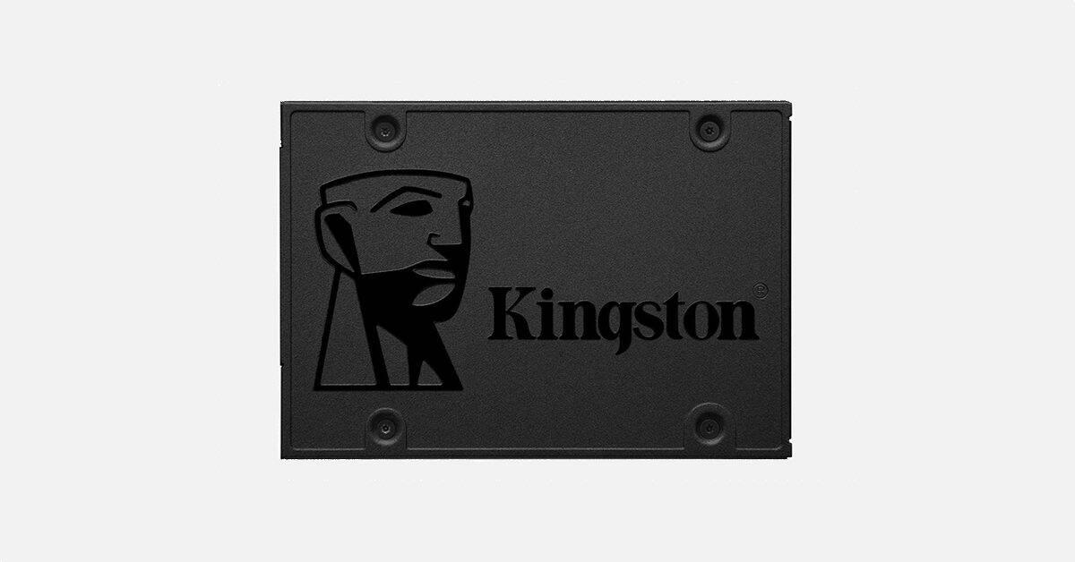 Bon plan : le SSD M.2 Kingston A400 120 Go à 19 euros