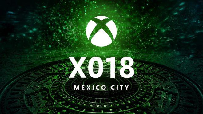 X018, un show Xbox de Microsoft pour concurrencer le PlayStation Experience de Sony.