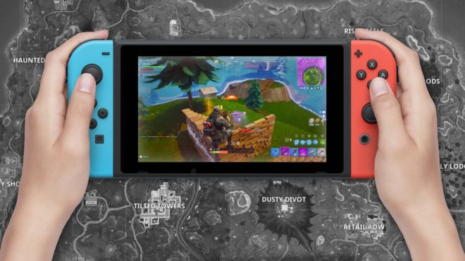 Un pack Nintendo Switch Fortnite est attendu pour octobre.
