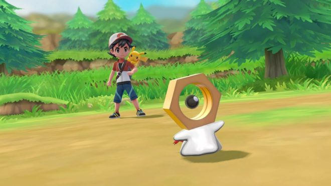 Pokémon Let's Go Meltan