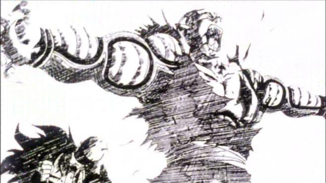 Piccolo protège Gohan en VR