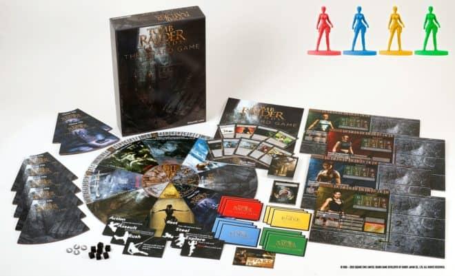 Tomb Raider Legends : The Board Game sortira en février 2019. Le jeu de plateau et les règles sont en anglais.