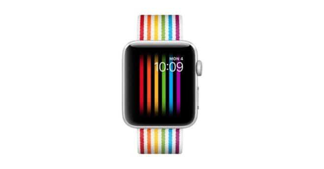 Apple Watch cadran Pride