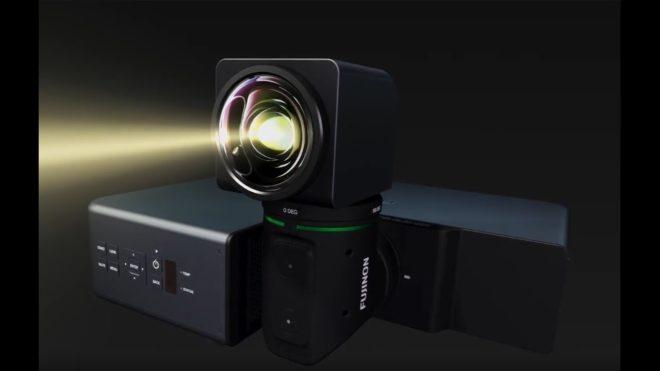 fujifilm d voile un projecteur d 39 image multidirectionnel. Black Bedroom Furniture Sets. Home Design Ideas