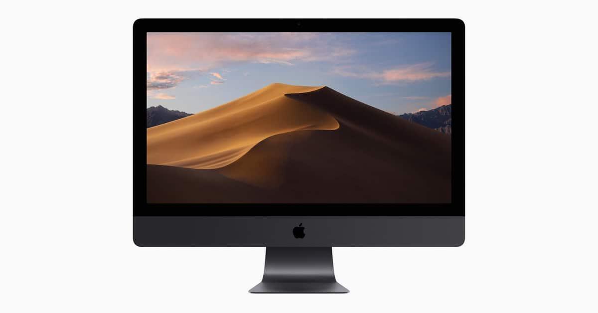 Apple cesse de vendre son iMac Pro