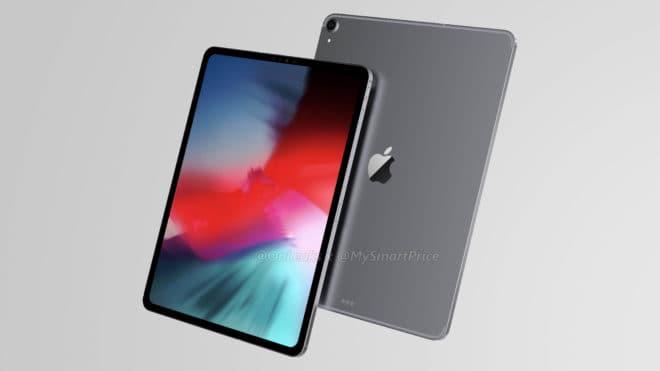 iPad Pro rendu