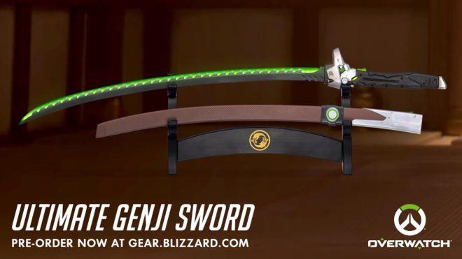 sabre Genji Overwatch