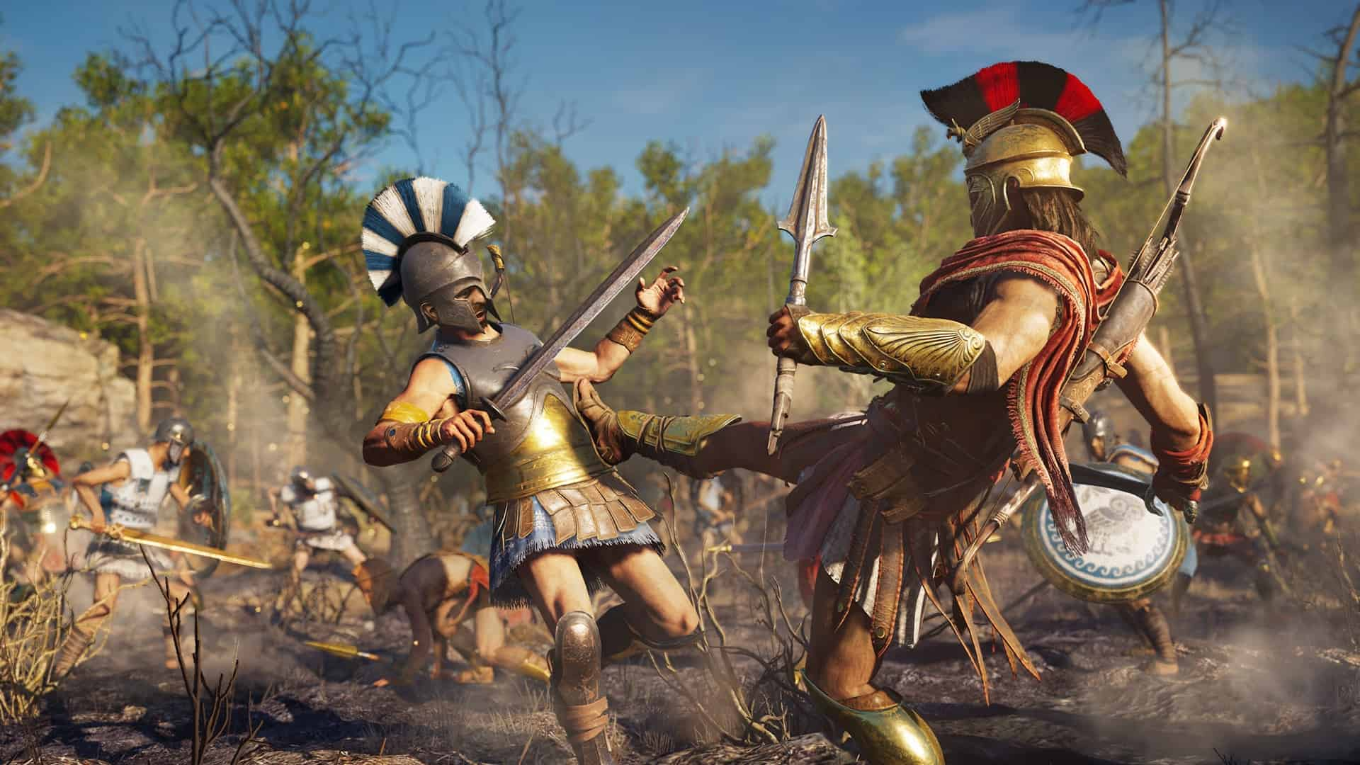 Assassin's Creed Odyssey : Ubisoft rend hommage à Breath ...