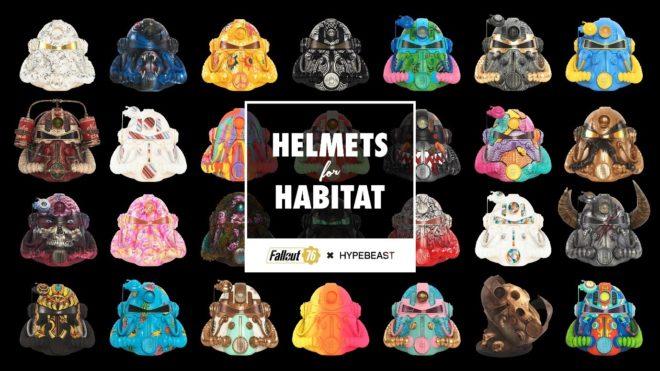 Bethesda lancement le mouvement #HelmetsforHabitat.