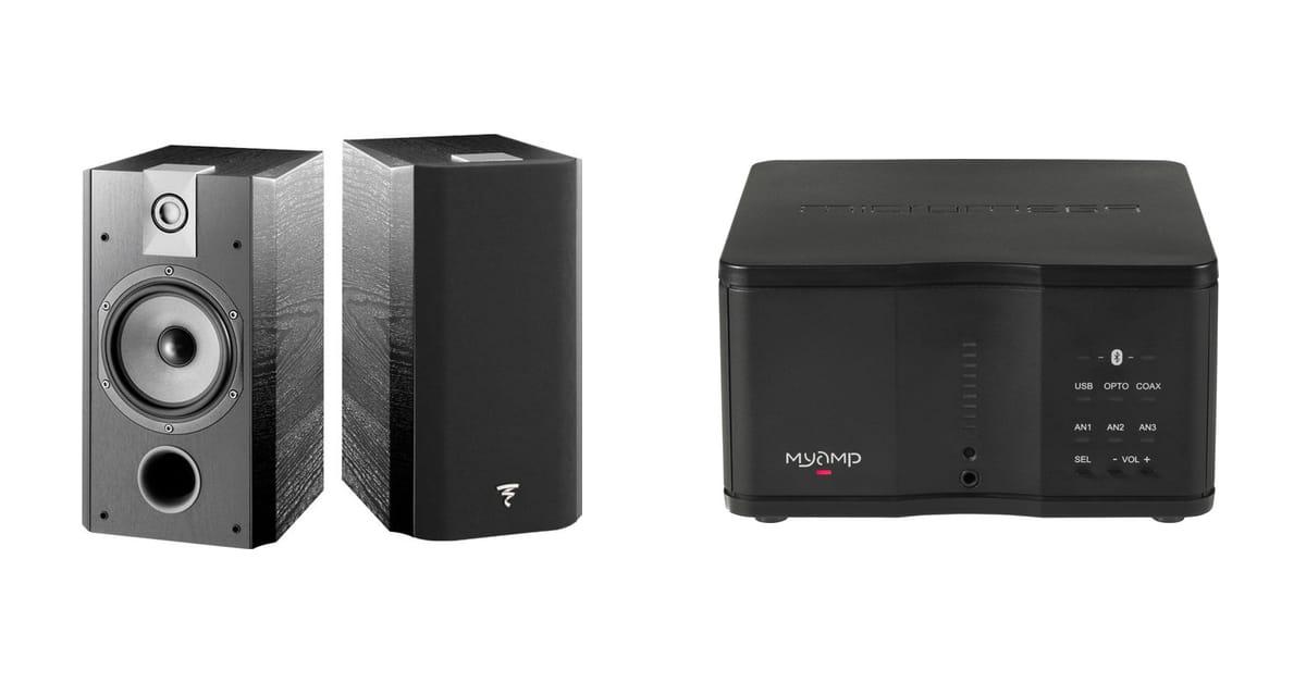 fnac enceintes focal et ampli microm ga pour 399. Black Bedroom Furniture Sets. Home Design Ideas