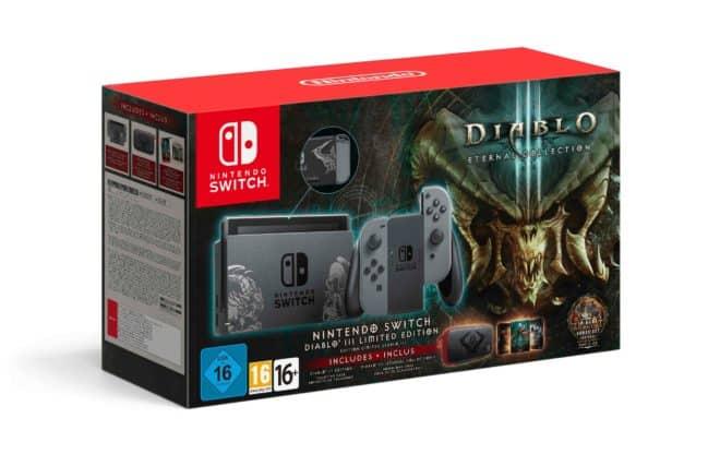 Nintendo dévoile un pack collector pour la Nintendo Switch avec Diablo 3.