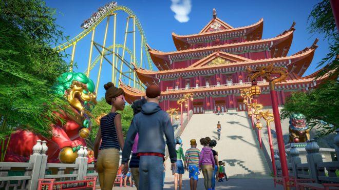Le Pack World's Fair propose 10 nouveaux thèmes internationaux grâce auxquels les joueurs pourront faire voyager les visiteurs de leur parc.