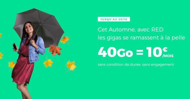 RED by SFR, opérateur de réseau mobile virtuel du Français SFR, a l'habitude de flirter avec les petits prix, mais varie constamment son offre de données mobiles, si bien que selon le mois, on ne sait jamais s'il est possible de faire une bonne affaire ou non. Ce mois-ci, c'est clairement le cas. La plus […]