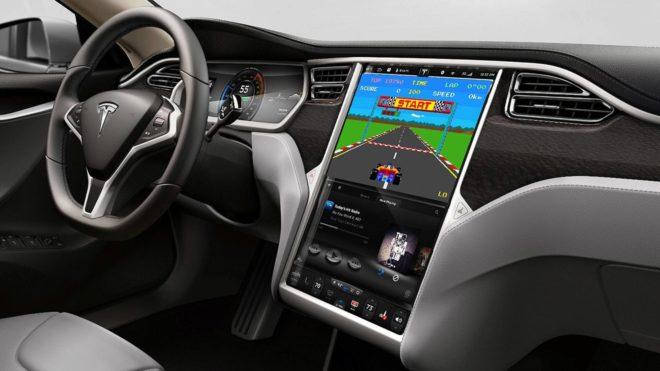 Les voitures Tesla vont accueillir des jeux Atari.