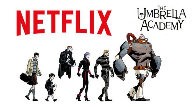 The Umbrella Academy sortira le vendredi 15 février 2019 sur Netflix.