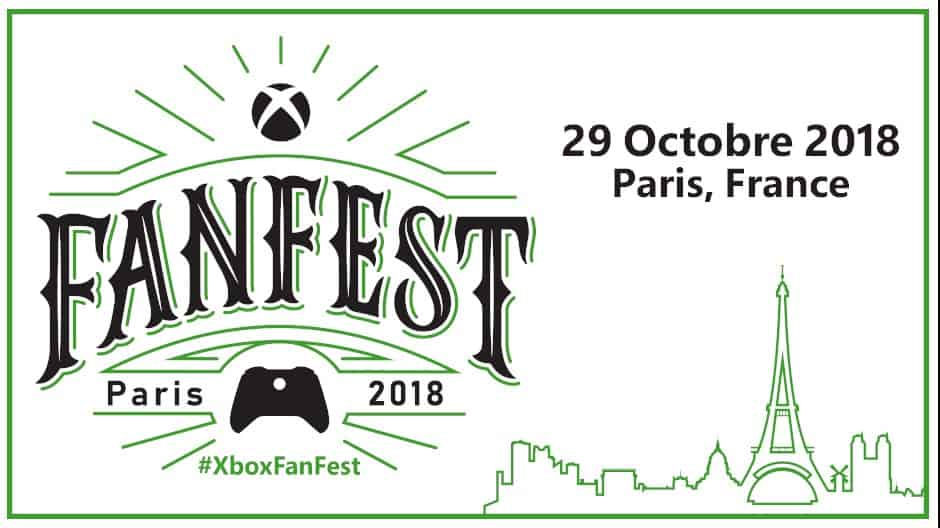 microsoft le prochain xbox fanfest aura lieu la paris games week 2018. Black Bedroom Furniture Sets. Home Design Ideas