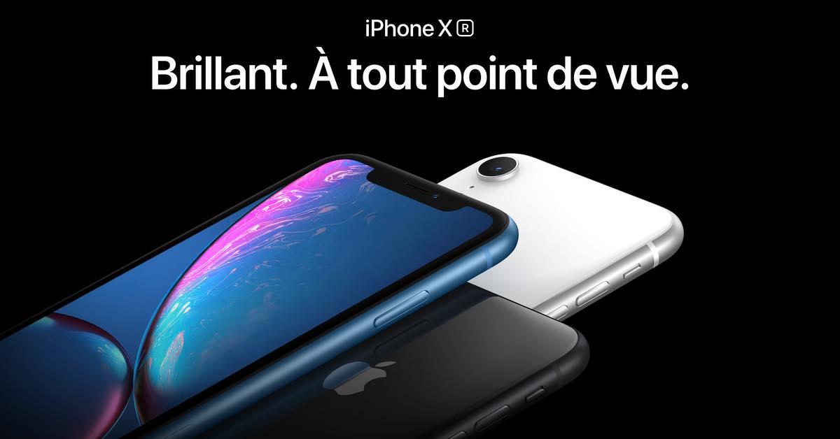 iPhone XR : les précommandes lancées chez Fnac