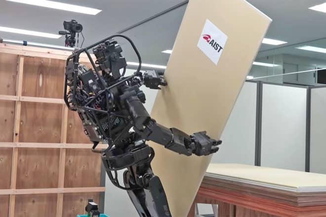 robot humanoïde HRP-5P