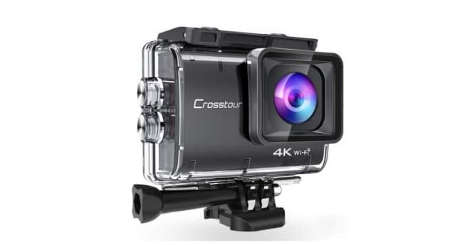 L'action cam Crosstour 9500CT est capable de filmer en4K à 30 im/s et de capturer des photos en 20MP grâce à un objectif Sony à 7 couches. L'objectif grand angle de l'appareil est réglable. Une action cam pour baroudeurs Fournie avec un boîtier étanche et antipoussière, l'action camCrosstour CT9500 lui permet de résister aux éclaboussures […]