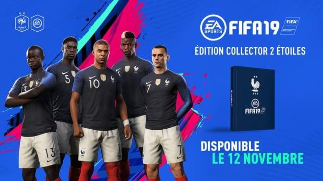 FIFA 19 va s'offrir une édition collector aux couleurs de l'Équipe de France.