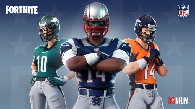 Des skins de joueurs de la NFL vont bientôt arriver dans Fortnite.