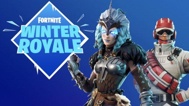 La prochaine phase de jeu compétitif de Fortnite aura lieu avec le tournoi Winter Royale.