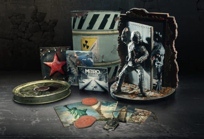 Une édition collector pour Metro Exodus, mais sans le jeu.