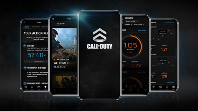 application mobile Call of Duty