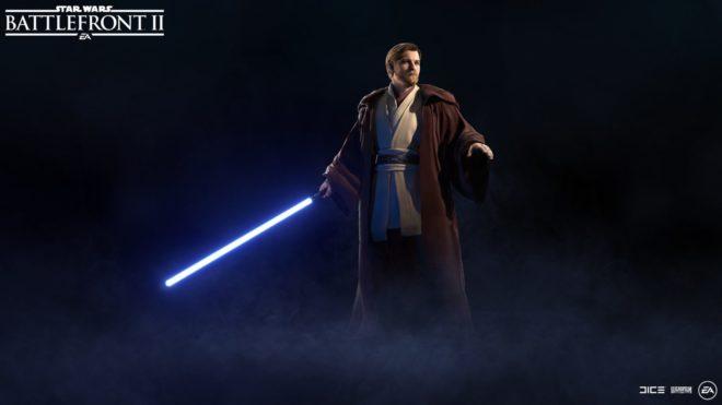 Obi-Wan Kenobi Star Wars Battlefront 2