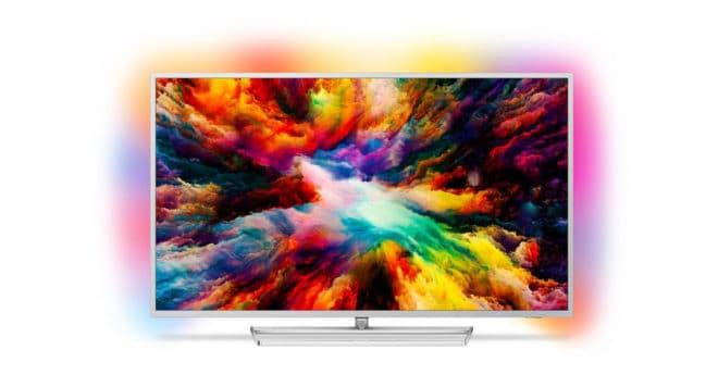 Le 55PUS7363 de Philips est un téléviseur ultra plat de le série 7303 qui vous fera découvrir un monde de divertissements avec Android TV et aussi d'une qualité d'image exceptionnelle. Une image plus captivante avec Ambilight+ LePhilips 55PUS7363offre une résolution 4K (Quad Full HD)d'environ 8 millions de pixels (3840 x 2160 pixels),soit quatre fois plus […]