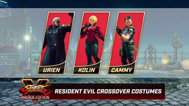 Street Fighter Resident Evil