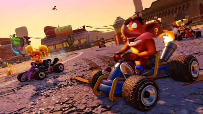 Activision a dévoilé Crash Team Racing Nitro-Fueled lors des Game Awards 2018.