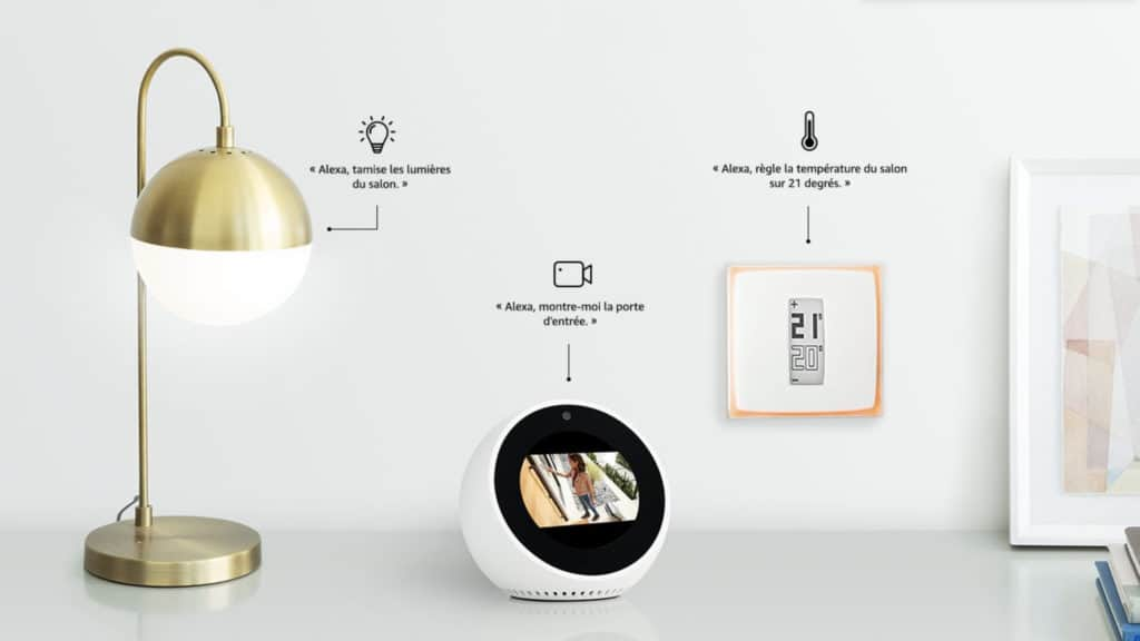 Amazon Echo Spot : 20€ de réduction sur l'assistant vocal