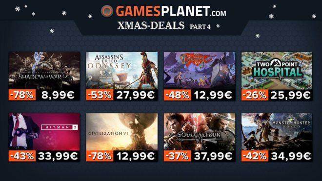 Si vous avez manqué une grosse sortie cette année en FPS, RPG, RTS, 4X, action, aventure… ou attendiez une baisse de prix avant de craquer, le moment est venu. Jusqu'à 80% de réduction Être un gamer assidu n'est pas gratuit, loin de là.Alors qu'un jeu AAA neuf sur console est commercialisé pour 69€, la plupart […]