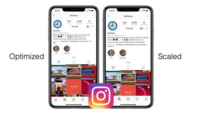 Instagram iPhone XR XS Max