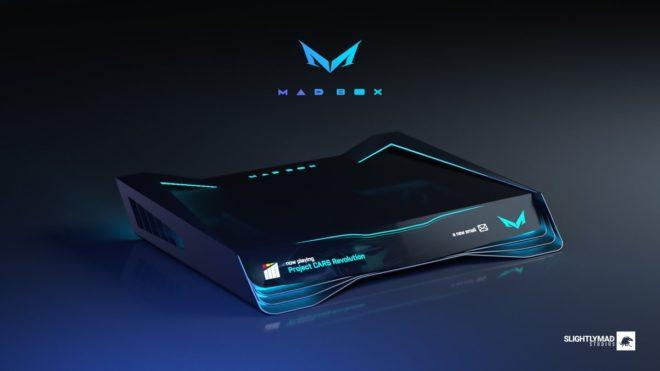 Slightly Mad Studios dévoile le design final de la Mad Box qui évoluera avec le temps.