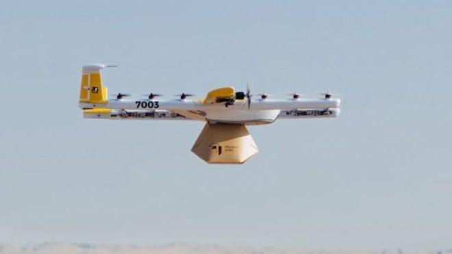 drone livraison café