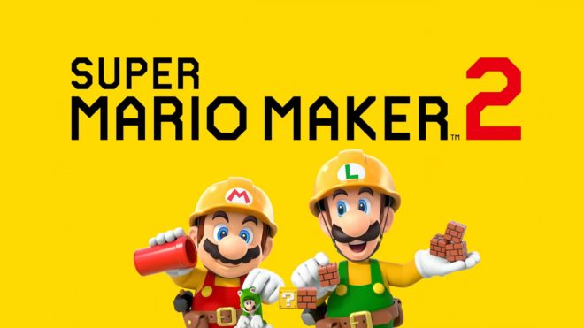 Super Mario Maker 2 annoncé sur Nintendo Switch.