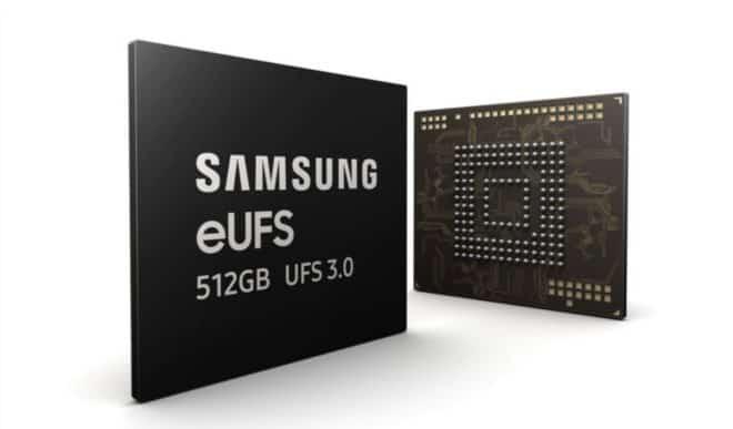 mémoire flash Samsung