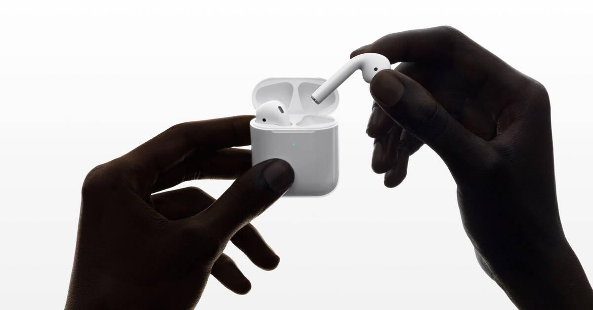 Les Apple AirPods 2 disponibles chez Fnac