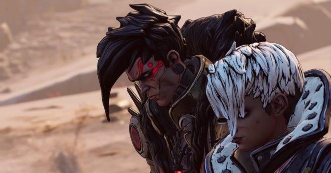 Les deux antagonistes de Borderlands 3 –Capture d'écran YouTube