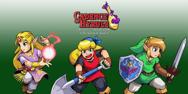 Cadence of Hyrule, l'improbable fusion Crypt of the NecroDancer avec The Legend of Zelda.