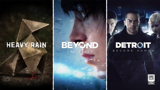 Quantic Dream va porter pour la première fois trois de ses jeux phares sur PC.