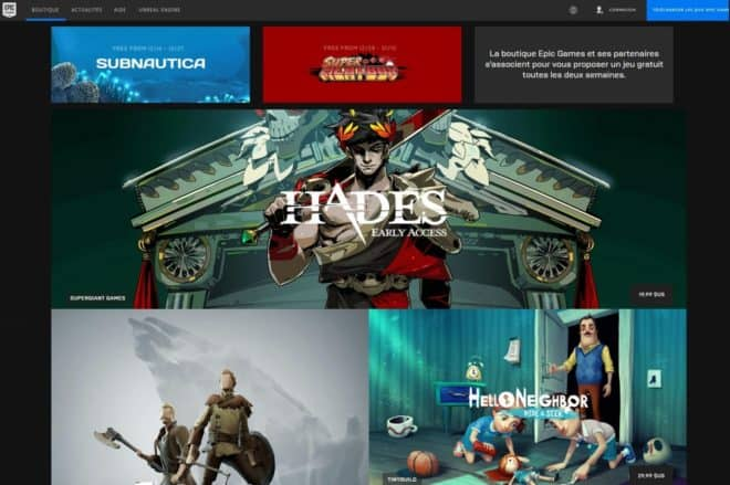 """Pas de """"jeux merdiques"""" sur l'Epic Games Store."""