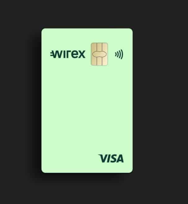Carte bancaire Visa Wirex